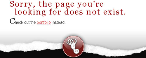 404 page for Middle EAR Media