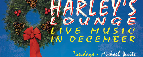 Example of Harley's Lounge Poster