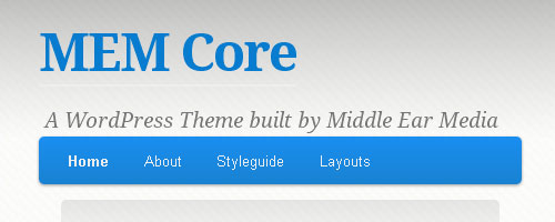 Free WordPress Theme 'MEM Core' released