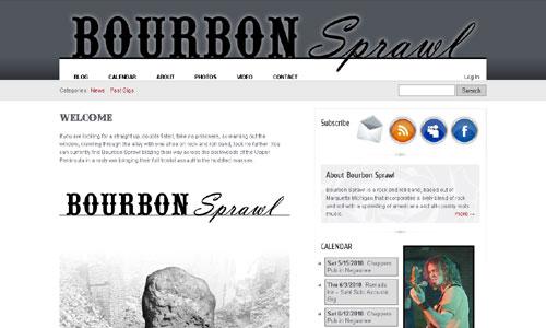 Bourbon Sprawl