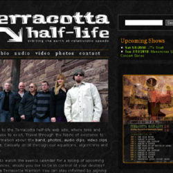 Terracotta half-life