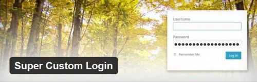 Super Custom Login