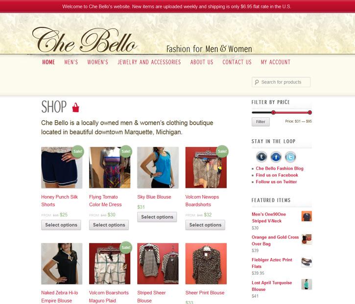a37b1968583873 Che Bello Boutique expands with online shop