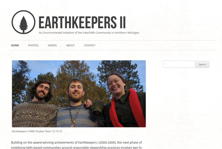 Earthkeepers II website
