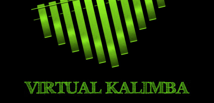 Application virtuelle audio Web Kalimba