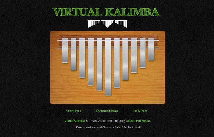 Kalimba virtuel 1.5