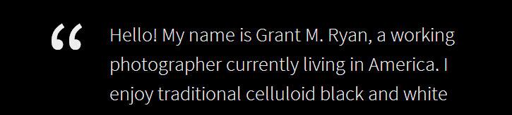 Grant Ryan Blurb