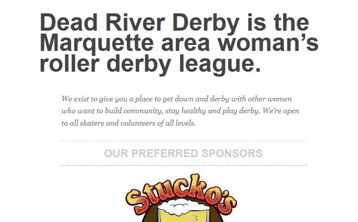 Dead River Derby Shows Gratitude