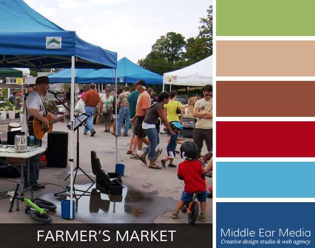 Farmer's Market Color Palette