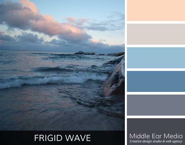 Frigid Wave Color Palette