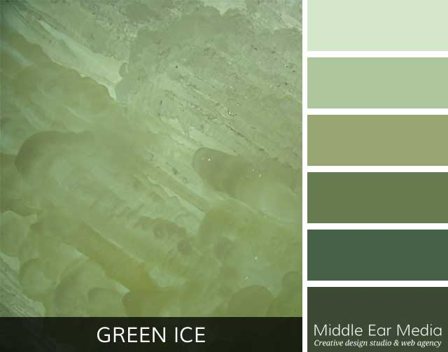 Green Ice Color Palette
