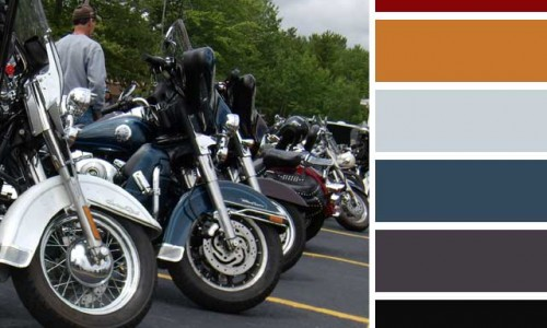 Motorcycles Color Palette