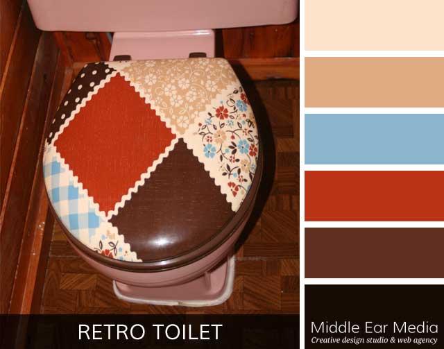 Retro Toilet Color Palette