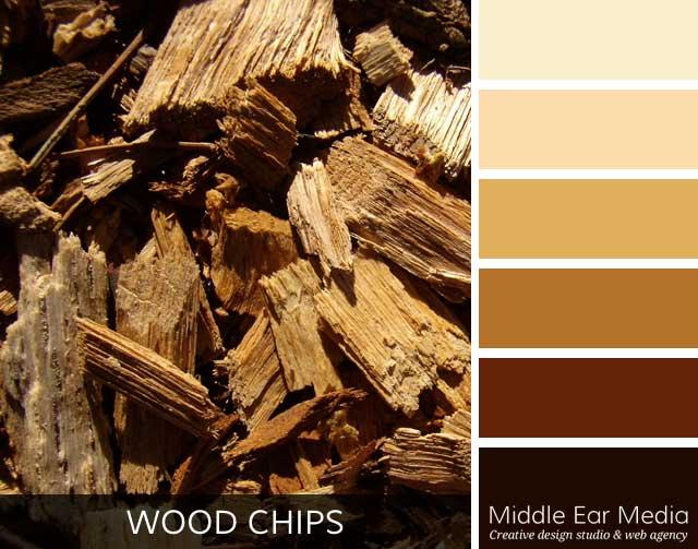 Wood Chips Color Palette