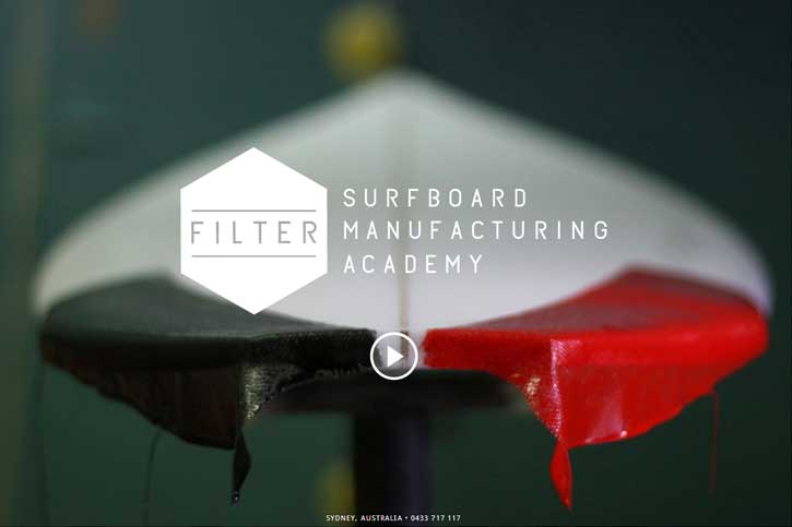 Filter Surfboard Manufacturing Academy