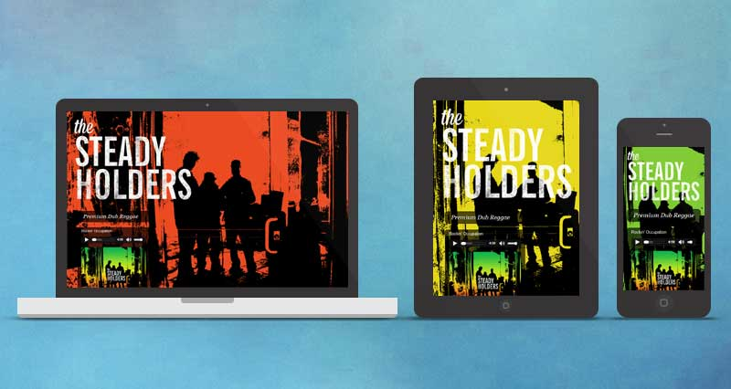 The Steady Holders Responsive Website
