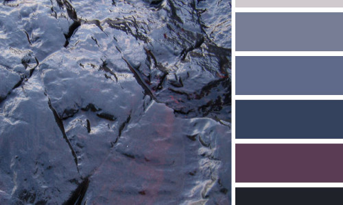 Black Rocks Color Palette