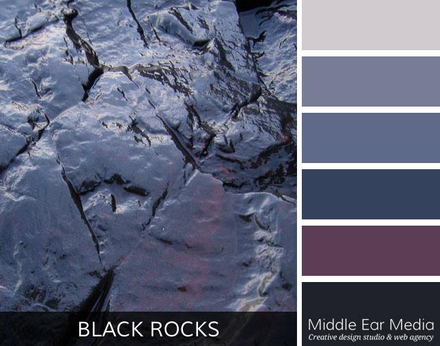 Black Rocks Color Palette