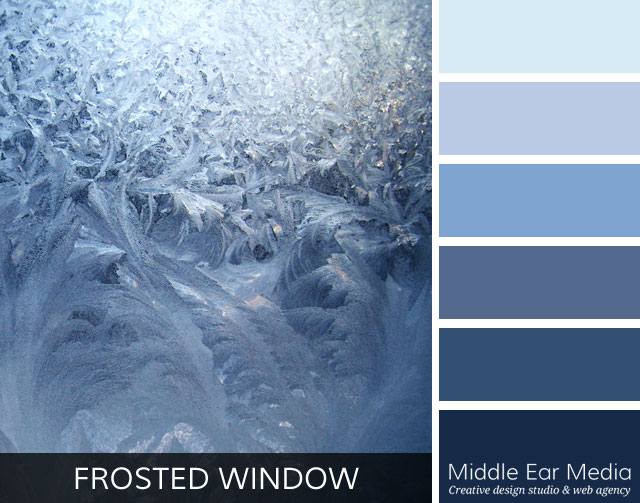 Frosted Window Color Palette
