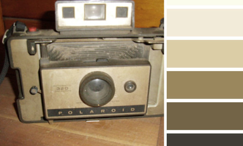 Instant Photo Color Palette