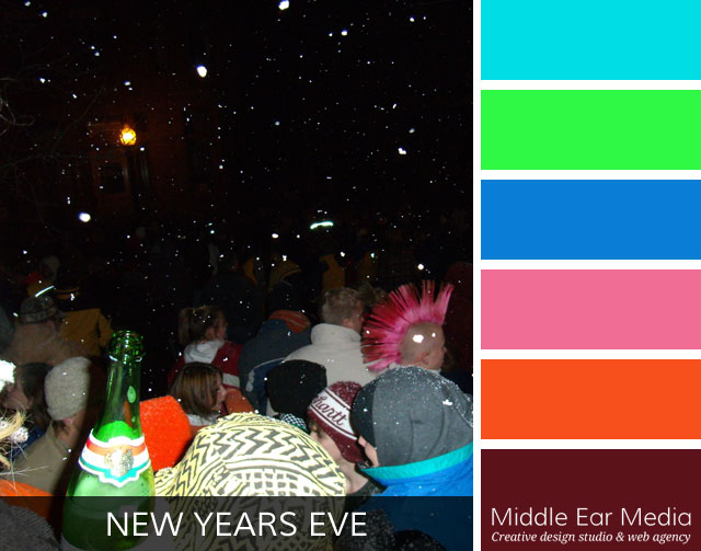 New Year's Eve Color Palette