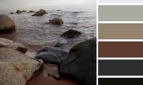 Rocky Shore Color Palette