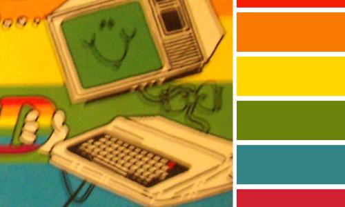 TRS-80 Color Palette