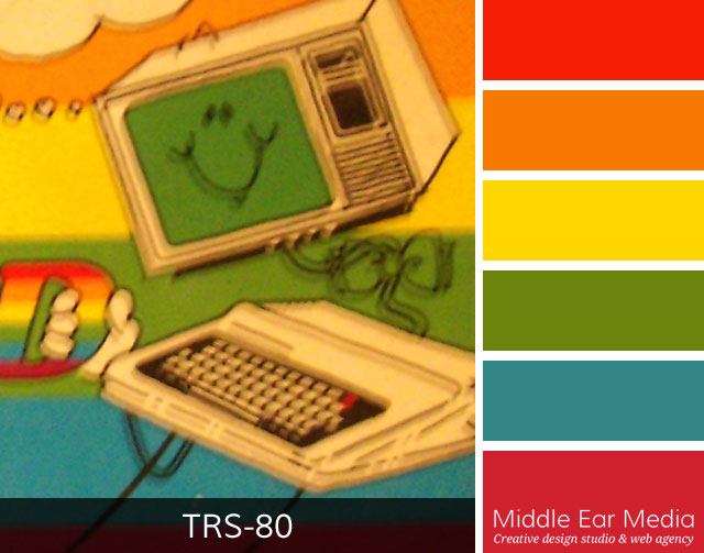 TRS-80 Color Palette