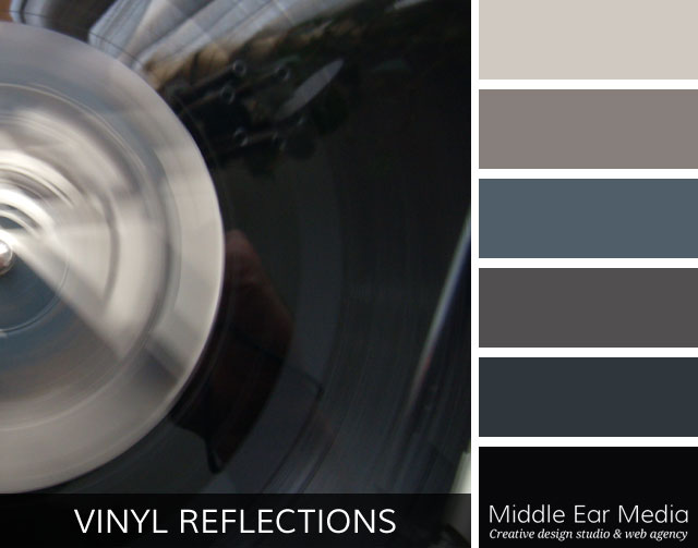 Vinyl Reflections Color Palette